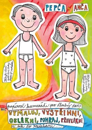 Pepča a Anča  oblíkačky