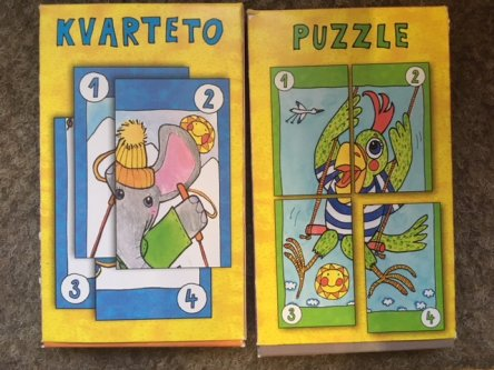 Kvarteto a puzzle