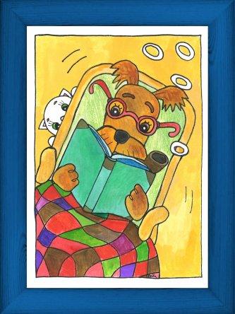 Pes čtenář
