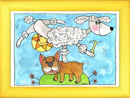 Psi akrobaté